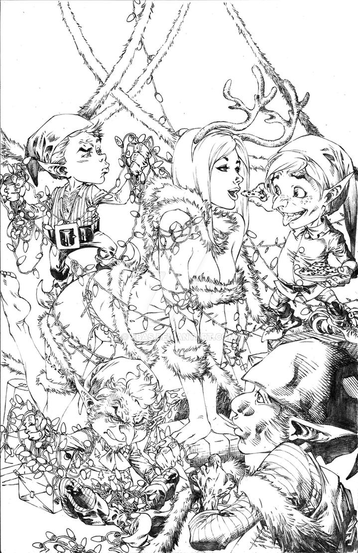 Elf lovin by ebas