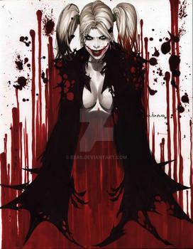 Harley quinn batman cape SMALL