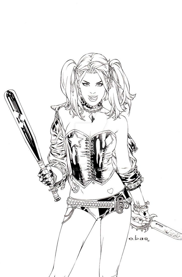 Harley Quinn by ebas