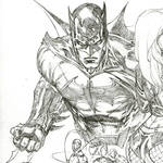 Batman layout lines