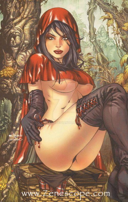 eBas Red Ridding Hood by ebas