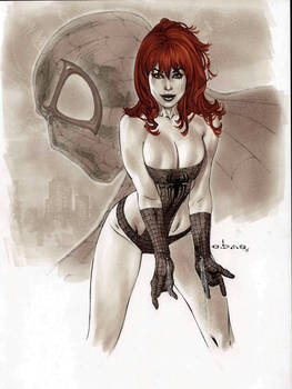 eBas Mary Jane  copic commission
