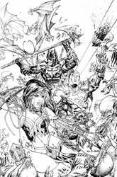 eBas Justice League in Darknights Metal