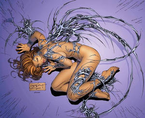 e.Bas Witchblade fetal position