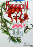 eBas Harley Quinn and Poison Ivy embrace