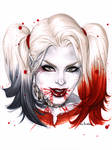 eBas  bloody Harley  Quinn
