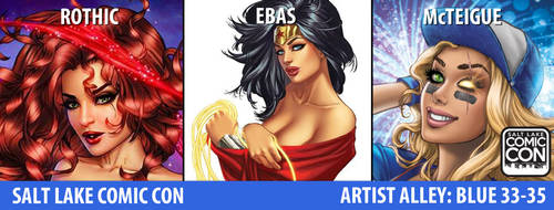 e.Bas at Salt Lake Comic Con