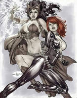 eBas Scarlett Witch and Black Widow