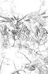 eBas Batman Poison Ivy face off