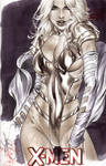 White Queen Phoenix5 copic sketch by eBas