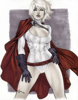 Copic Powergirl by me eBas