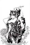 Batman Catwoman 50 wedding inks by me eBas