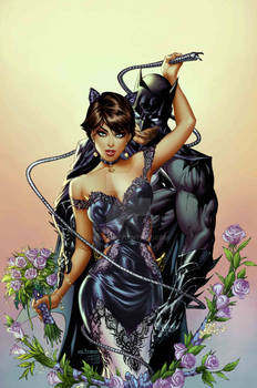 Batman 50 Catwoman wedding by me eBas