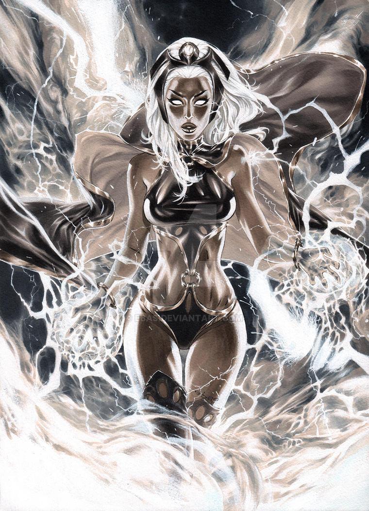 Storm Goddess of Thunder by ebas