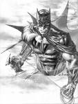 Batman with Batarang in Pencil by me  eBas