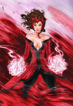 Scarlet Witch Powering Up eBas