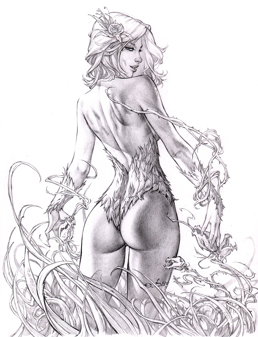 Poison Ivy GO ASS!!! by me ebas