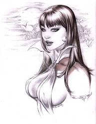 Vampirella EXTRA Busty in Pencil by me eBas