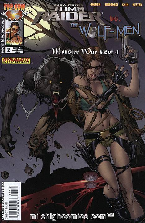 TombRaider and the Wolfman cover