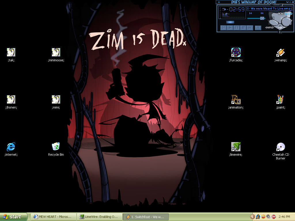 Desktop. by xrabbit