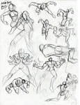Action poses part 2