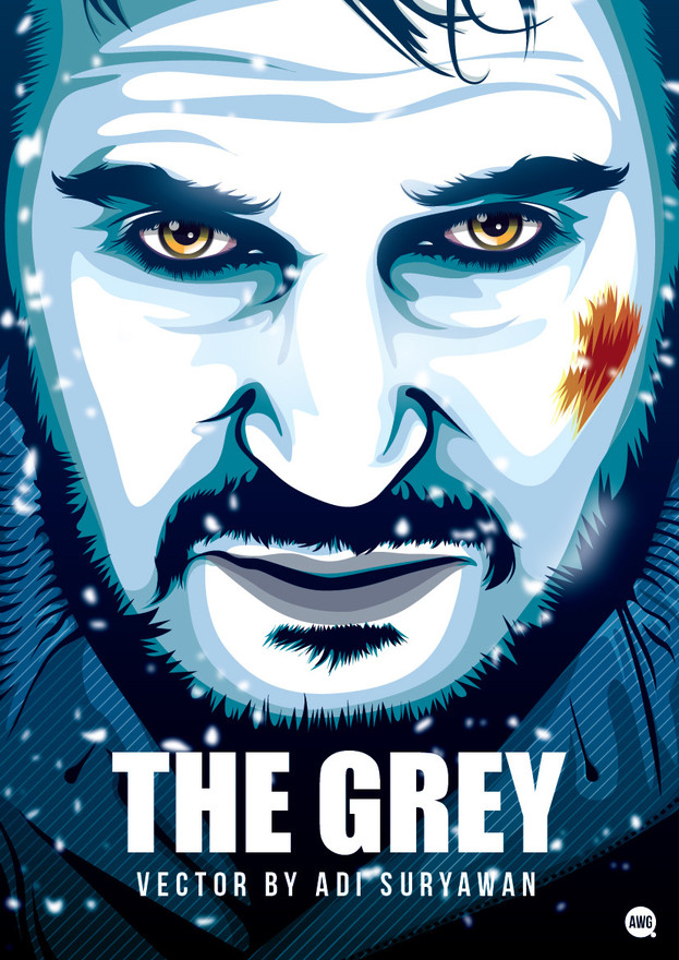 The Grey by awgvector