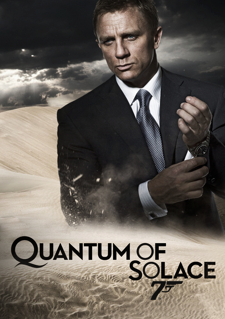 James Bond - Quantum of Solace Film Poster by KJOrmond on ...