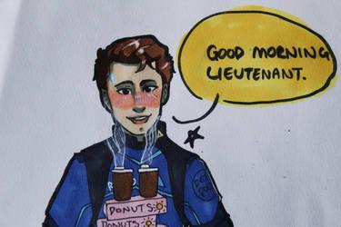 Good Morning Lieutenant  by Pink-Ninja-go1234