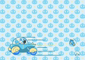 Chao Team Racing! by KonKonna