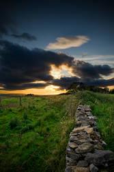 sunset from lansdowne