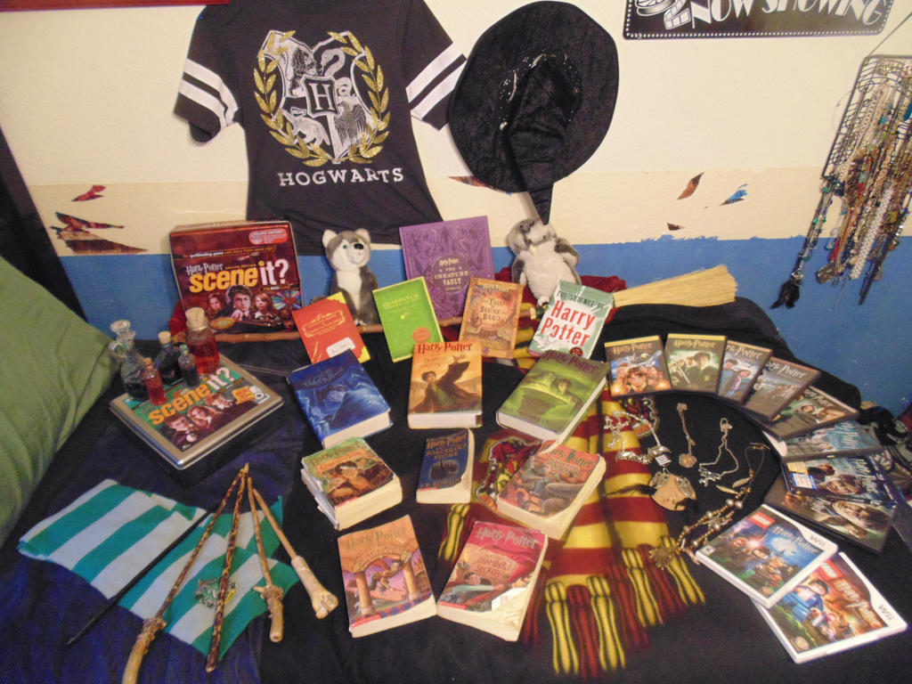 My Harry Potter Collection by romancefreak