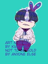 Offer to adopt - bunny boi by KiaKamill