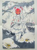 Mononoke Hime by miyuurii