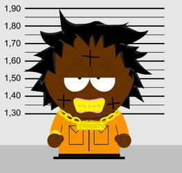 Kodak Black (South Park style)