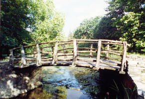 wooden bridge 01 by dandellionstock