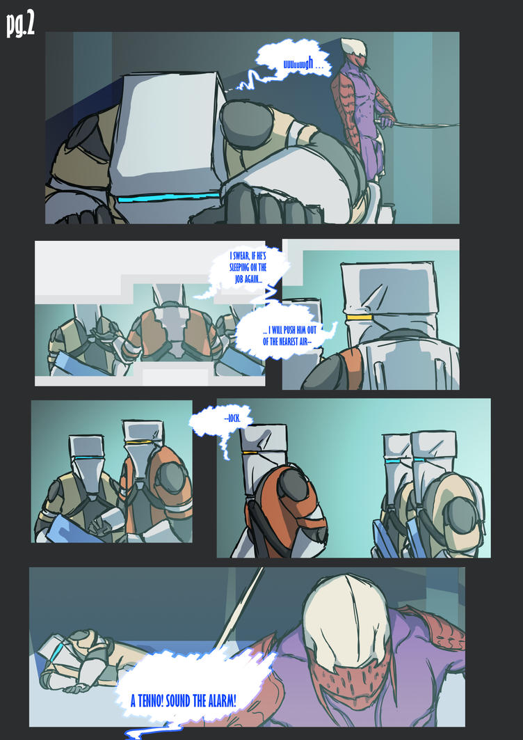 Dark Sectioned, pg.2: Second Wave by MWAlex