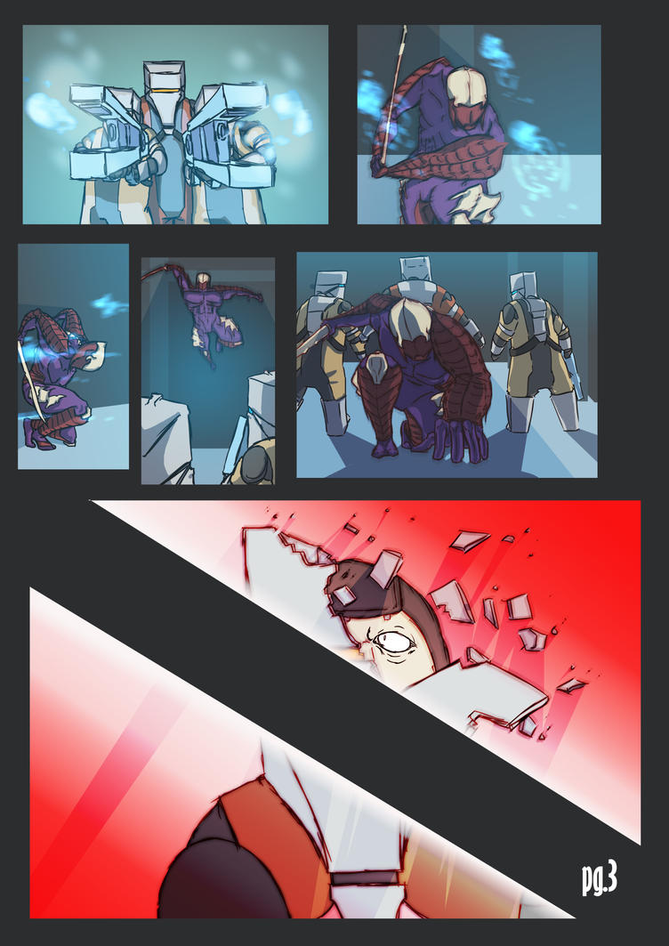 Dark Sectioned, pg.3: Three's Not His Crowd by MWAlex