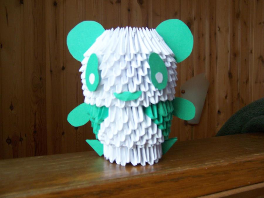 3D Origami Panda By Dead Promises