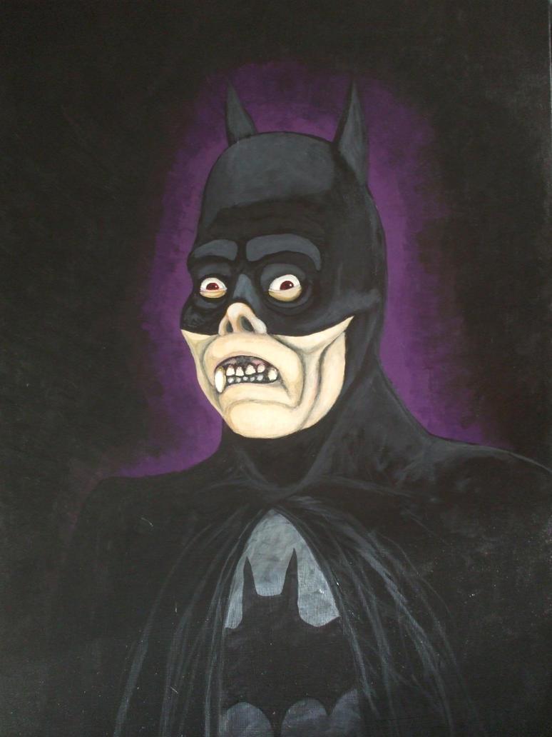 Phantom of the Bat Cave by LeeMurphy