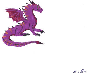 Lavander Dragon by jeepxjgirl07