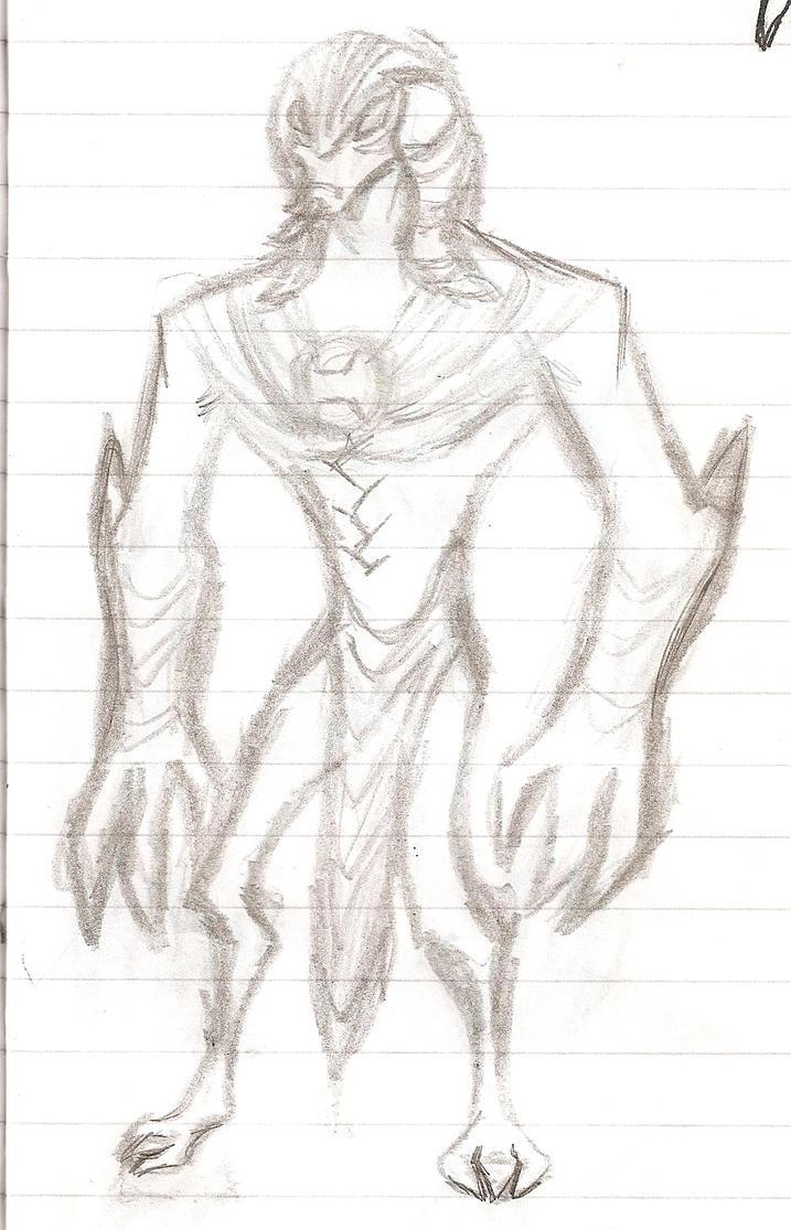 Sphinx sketch by nymzok