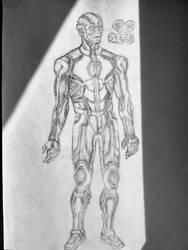 The Flash - costume design concept art
