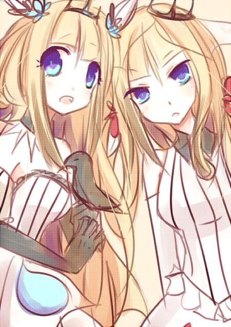 Lily Sisters by RabuRabbit