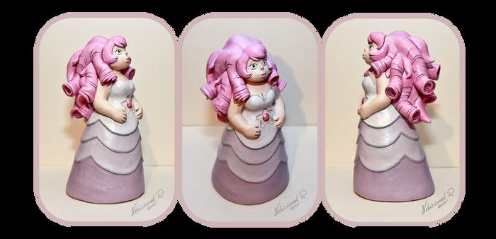 Commission: Rose Quartz Sculpture 2