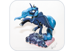 Princess Luna Sculpture by Arnne