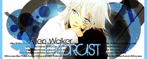 D-Gray Man - Allen Walker by Hanerys