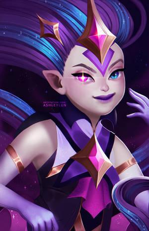 Star Guardian Zoe by AshleyLun