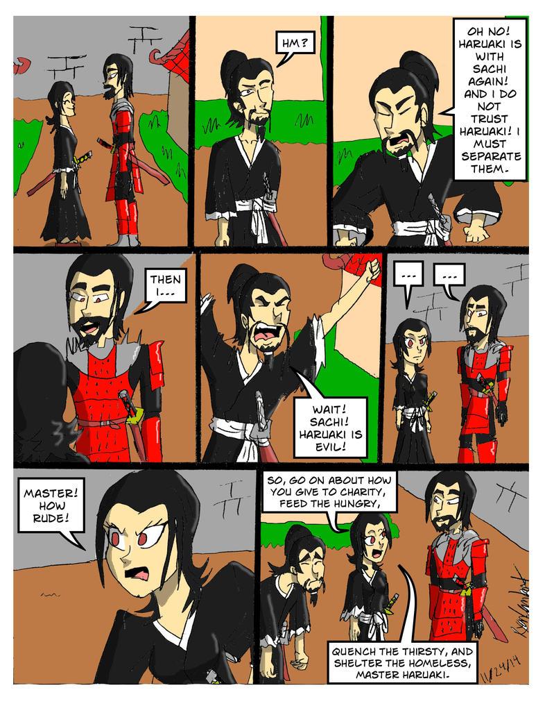 Oh My Samurai!- Untrustworthy by RyanTheGreat777
