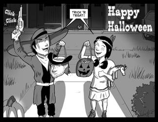 The Wilder West Halloween by Vearce