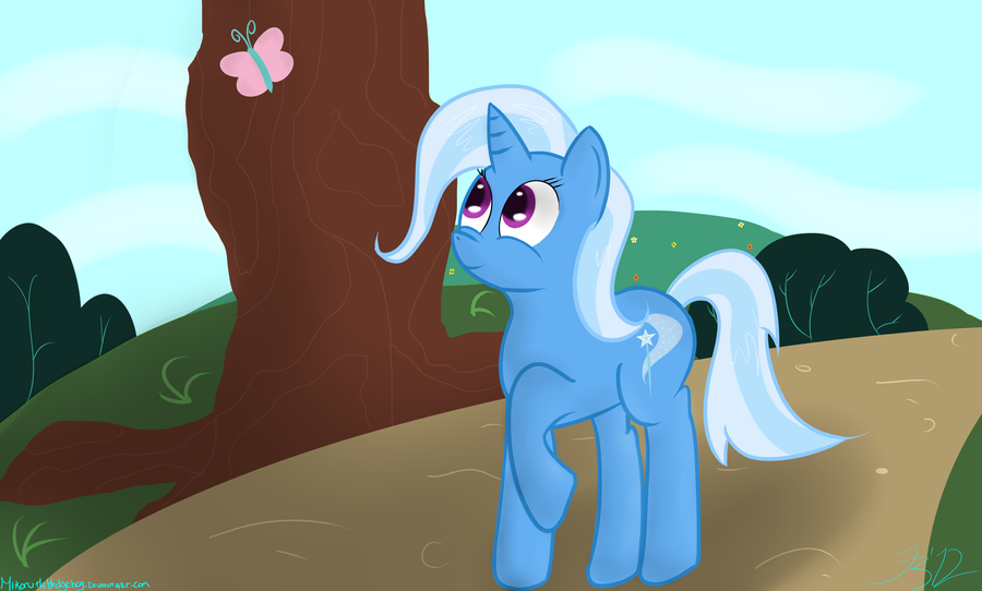 The Gentle and Kind Trixie by MikorutheHedgehog